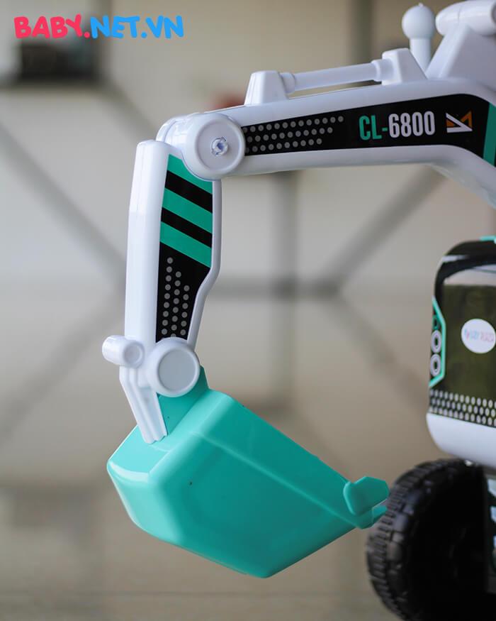 Xe chòi chân máy xúc cho bé CL-6801 6