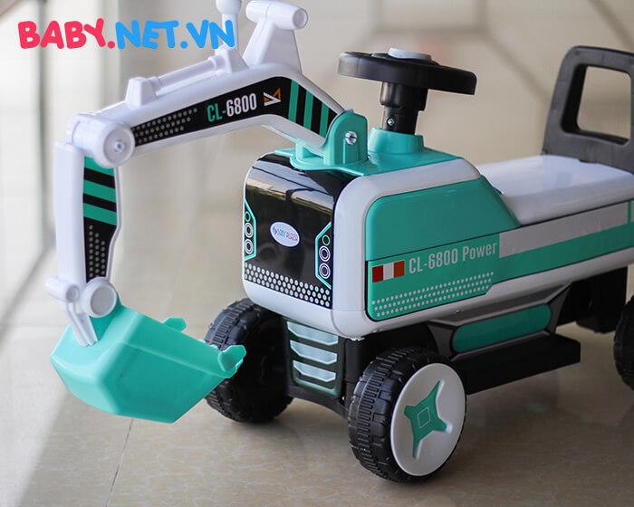 Xe chòi chân máy xúc cho bé CL-6801 7