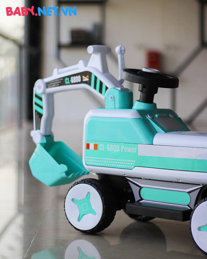 Xe chòi chân máy xúc cho bé CL-6801 8