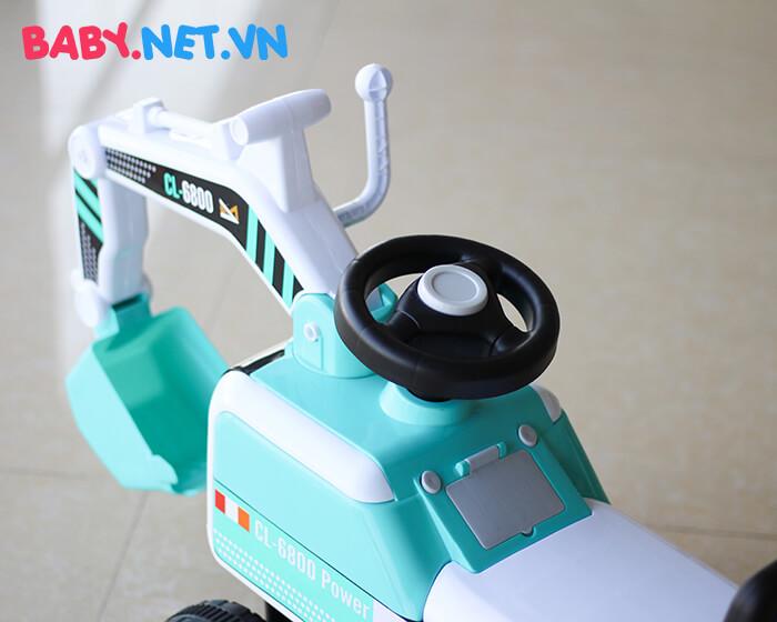 Xe chòi chân máy xúc cho bé CL-6801 9