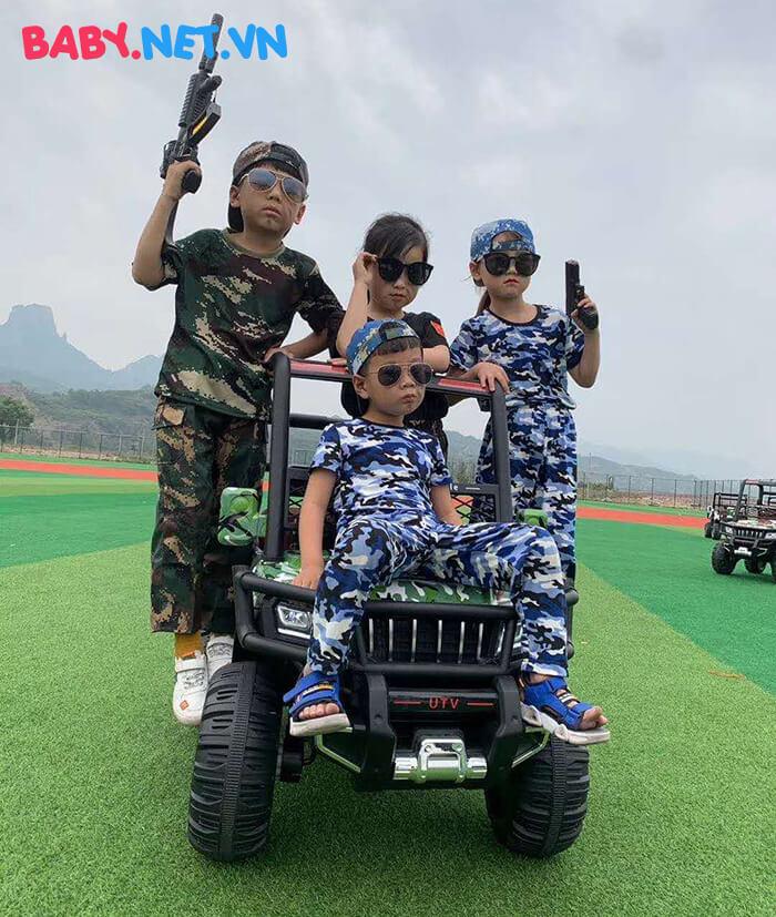 Xe điện Jeep khủng cho bé KP-6688 11