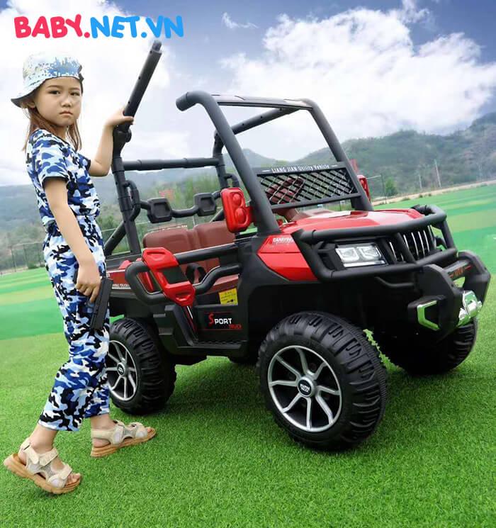 Xe điện Jeep khủng cho bé KP-6688 3