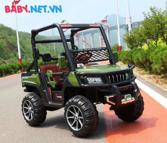 Xe điện Jeep khủng cho bé KP-6688 6