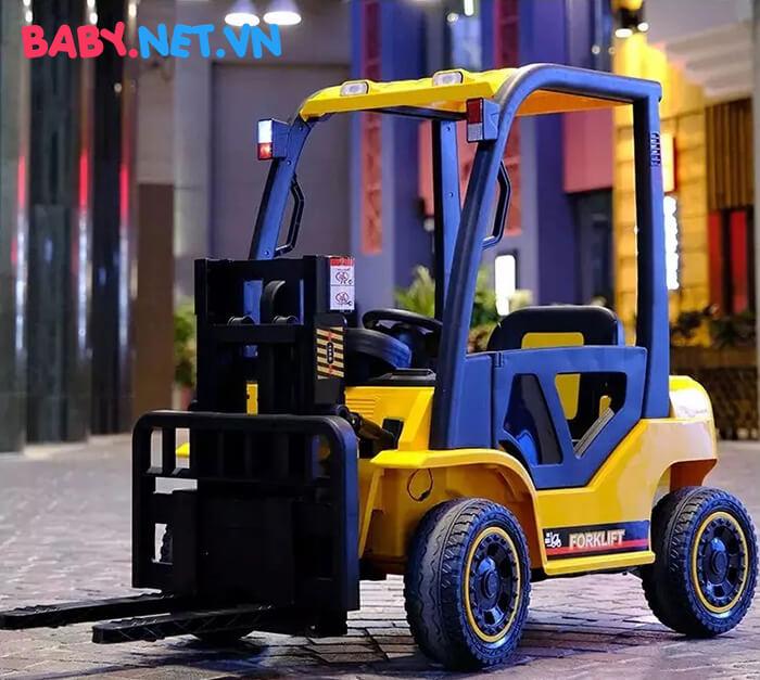 Xe nâng hàng chạy điện cho bé DLS08 3