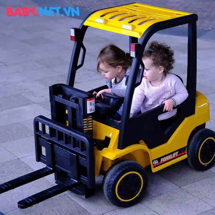 Xe nâng hàng chạy điện cho bé DLS08 4