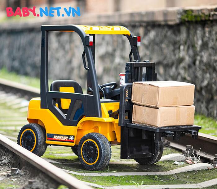 Xe nâng hàng chạy điện cho bé DLS08 5