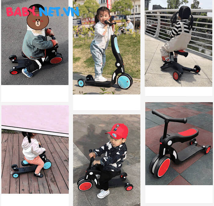 Xe trượt đa năng cho bé HD200 8