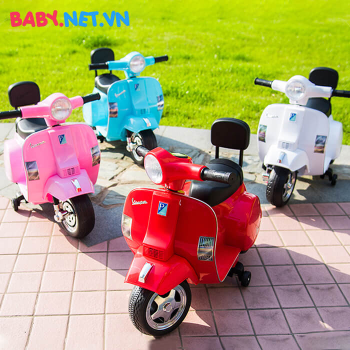 Xe điện Vespa cho trẻ A008 PX150 1