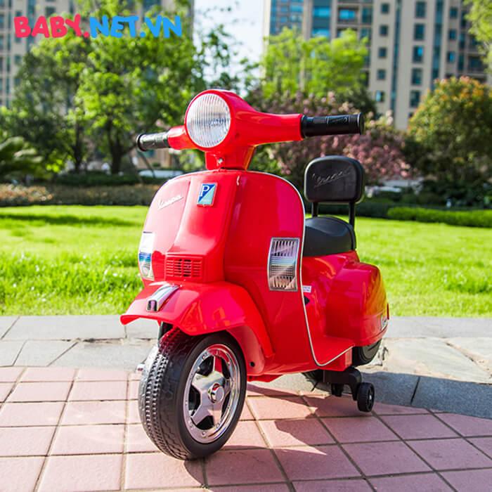 Xe điện Vespa cho trẻ A008 PX150 4