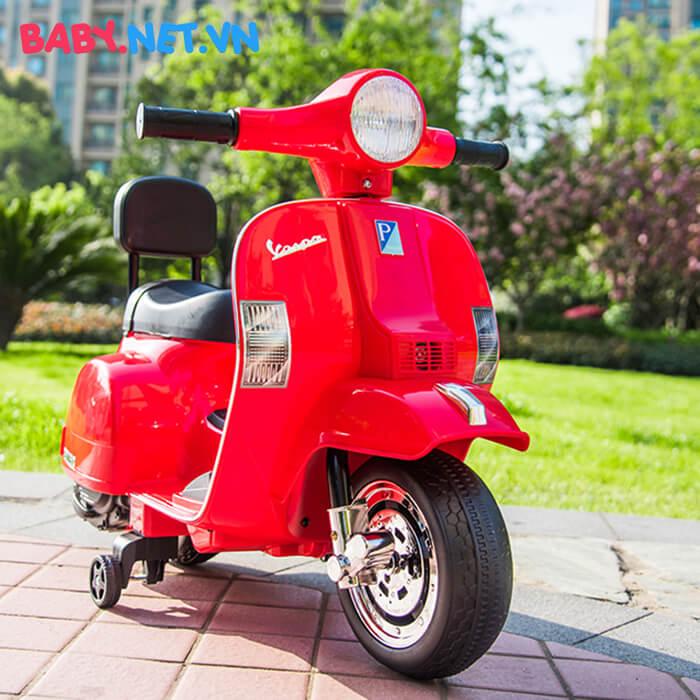 Xe điện Vespa cho trẻ A008 PX150 6