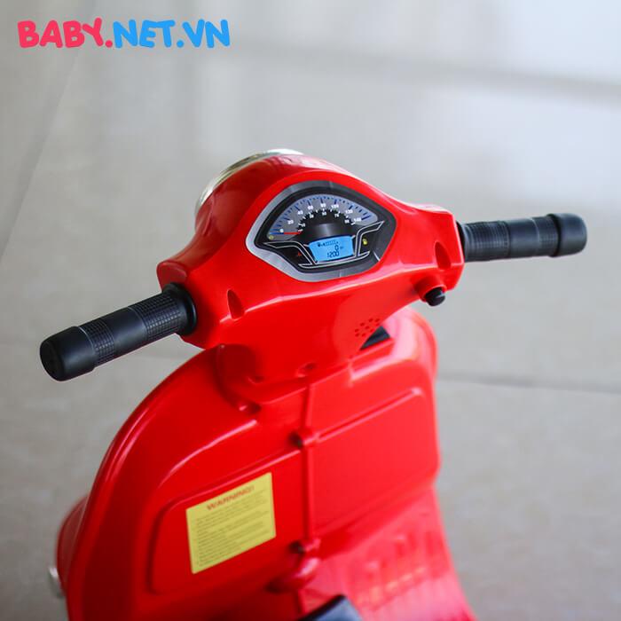 Xe điện vespa cho bé Q518 14