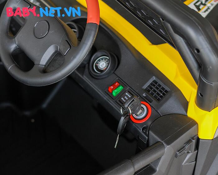 Xe ô tô địa hình chạy điện cho bé HC-301 11