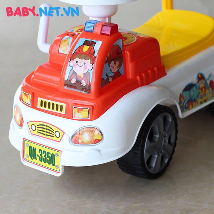 Chòi chân cứu hỏa cho bé QX-3350 6