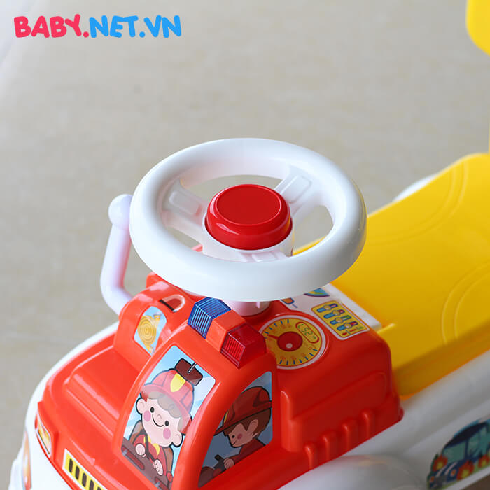 Chòi chân cứu hỏa cho bé QX-3350 8