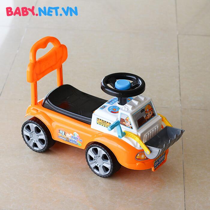 Chòi chân đồ chơi xe ủi đất QX-3355 1
