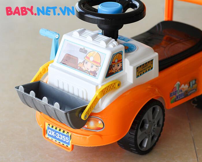 Chòi chân đồ chơi xe ủi đất QX-3355 2