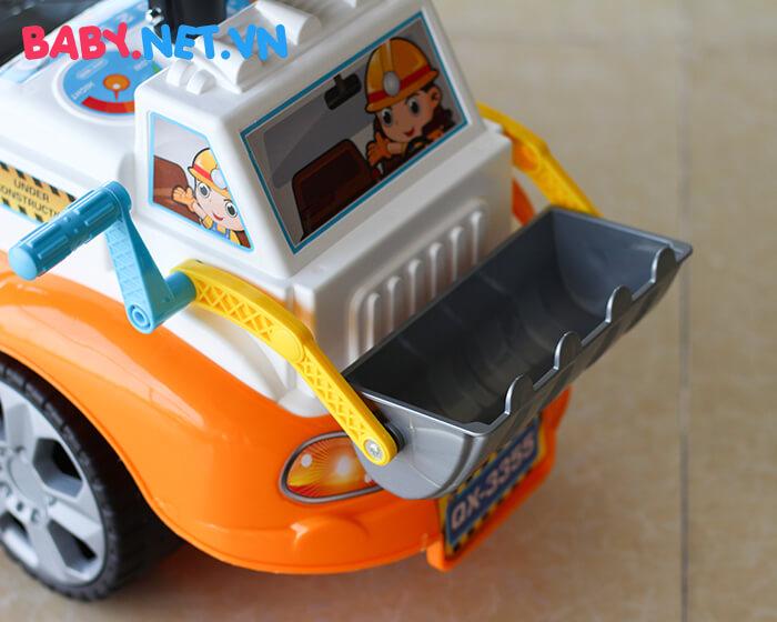 Chòi chân đồ chơi xe ủi đất QX-3355 3