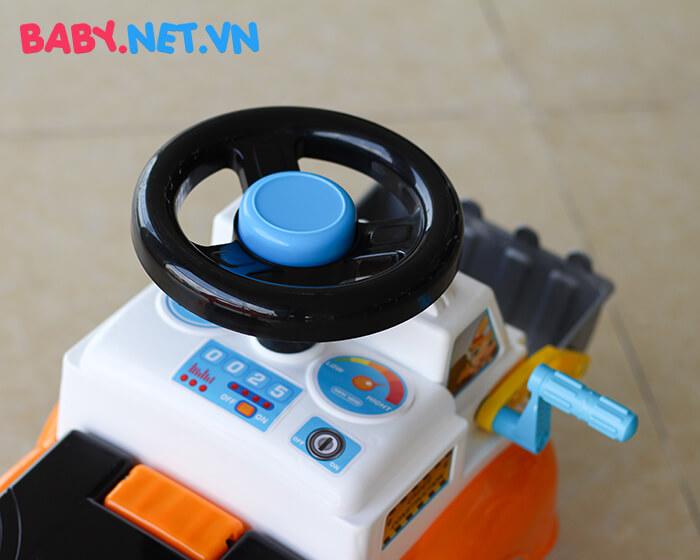 Chòi chân đồ chơi xe ủi đất QX-3355 4