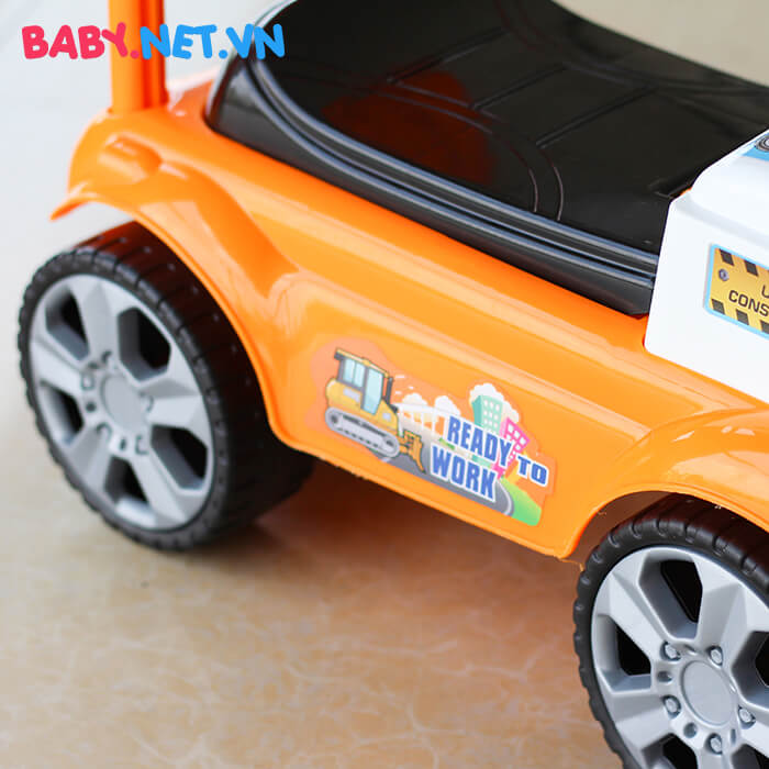 Chòi chân đồ chơi xe ủi đất QX-3355 6