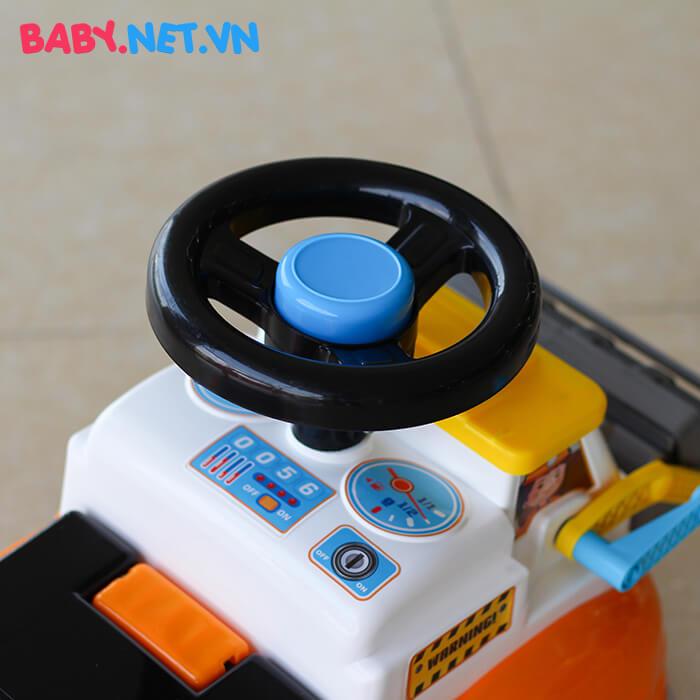 Chòi chân trẻ em xe lu QX-3356 4