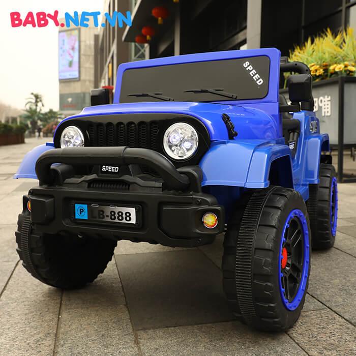 Ô tô chạy điện địa hình trẻ em LB-888 5