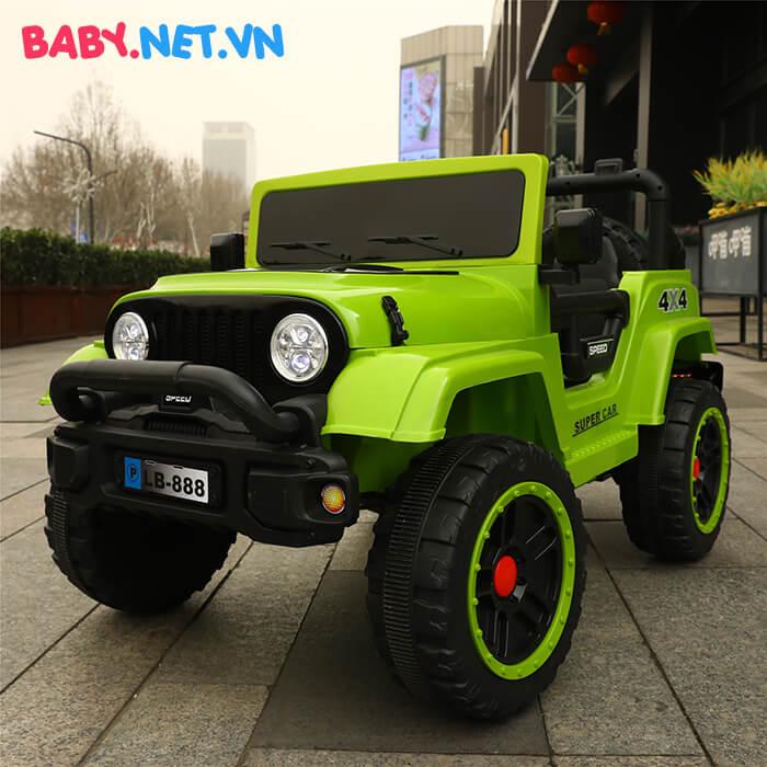 Ô tô chạy điện địa hình trẻ em LB-888 9