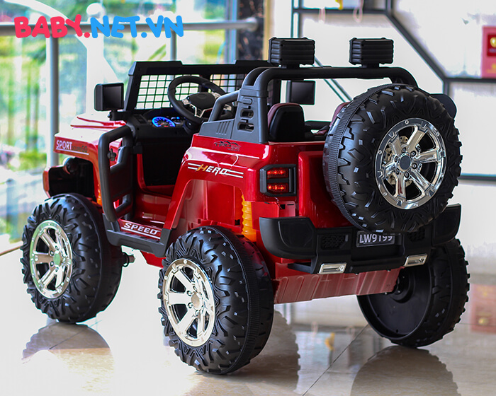 Ô tô điện cỡ lớn 2 chỗ ngồi LW-9199 8