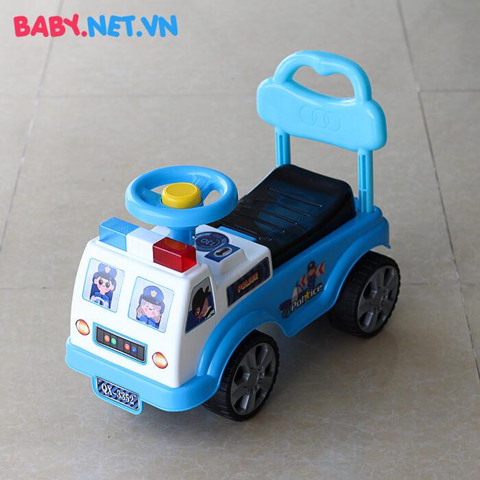 Xe chòi chân cho bé cảnh sát QX-3352 1