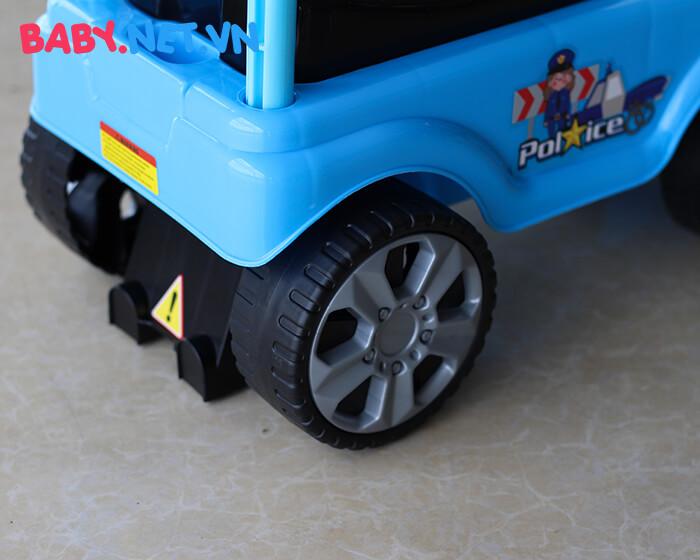 Xe chòi chân cho bé cảnh sát QX-3352 10