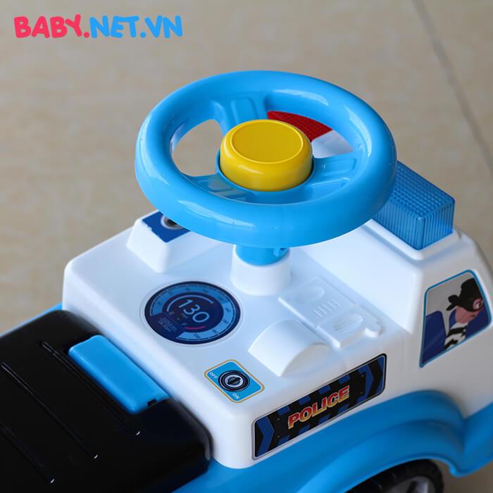 Xe chòi chân cho bé cảnh sát QX-3352 6