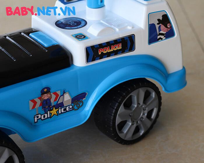 Xe chòi chân cho bé cảnh sát QX-3352 7