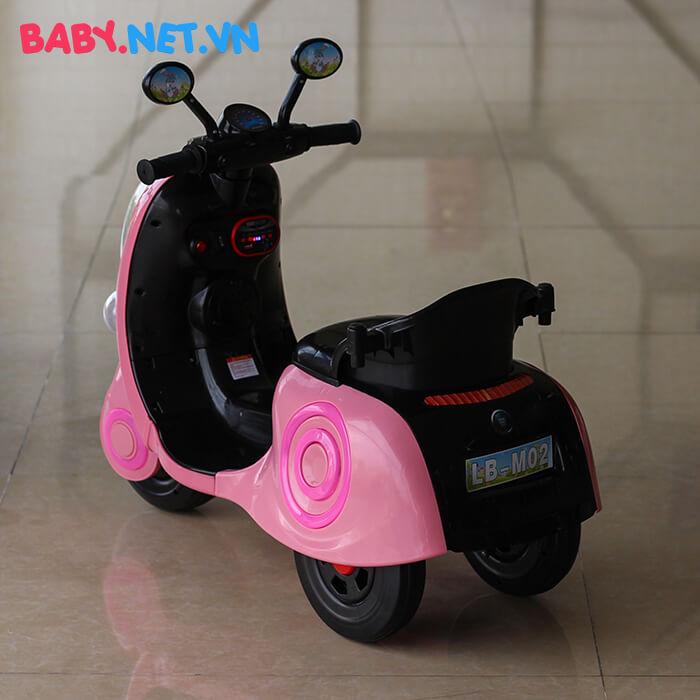 Xe máy điện cho bé hình thỏ M02 12