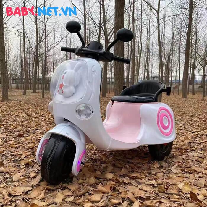 Xe máy điện cho bé hình thỏ M02 2