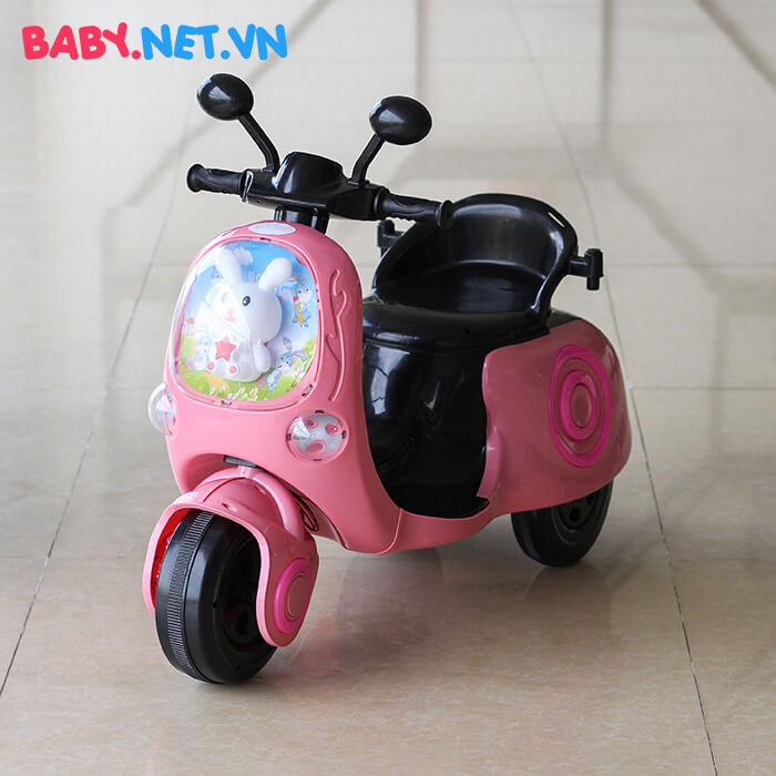 Xe máy điện cho bé hình thỏ M02 4