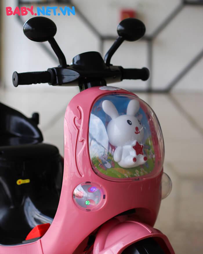 Xe máy điện cho bé hình thỏ M02 5