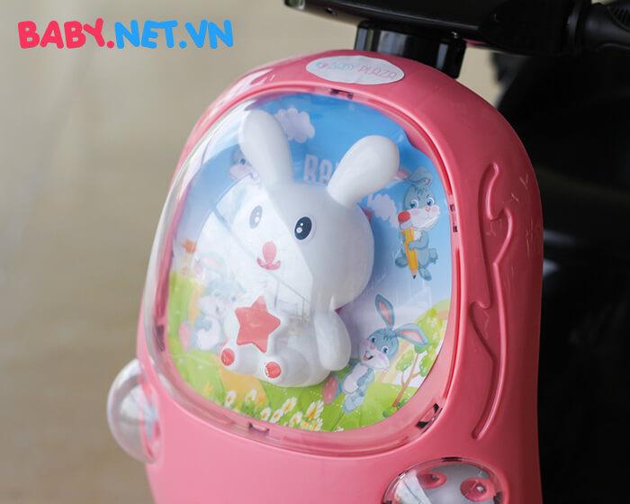 Xe máy điện cho bé hình thỏ M02 6