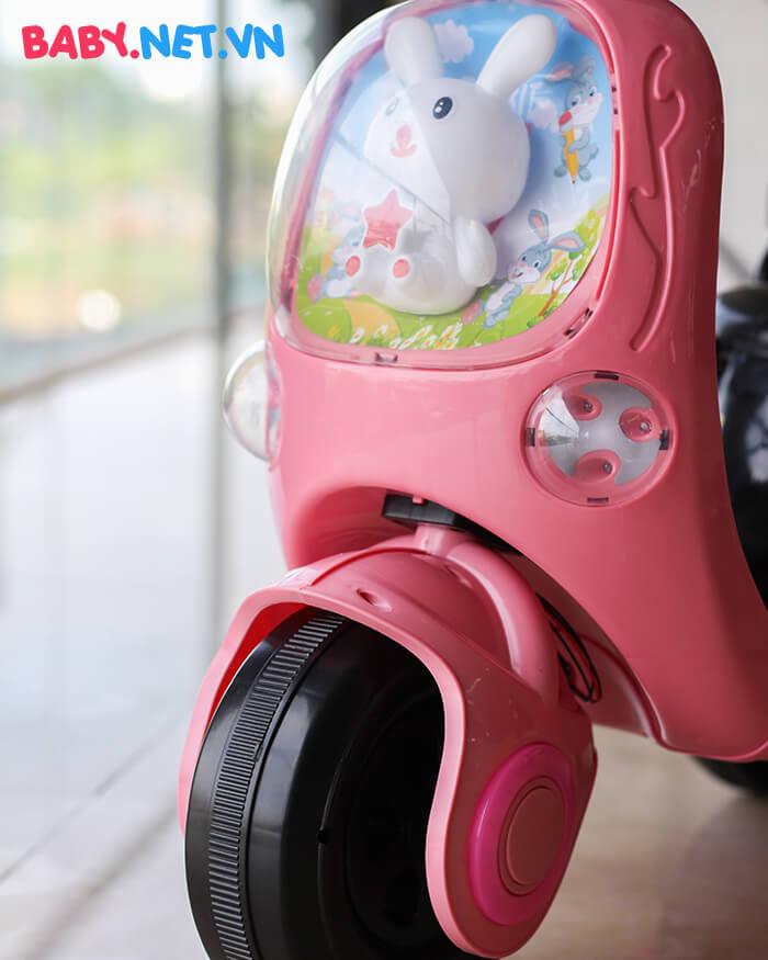 Xe máy điện cho bé hình thỏ M02 7