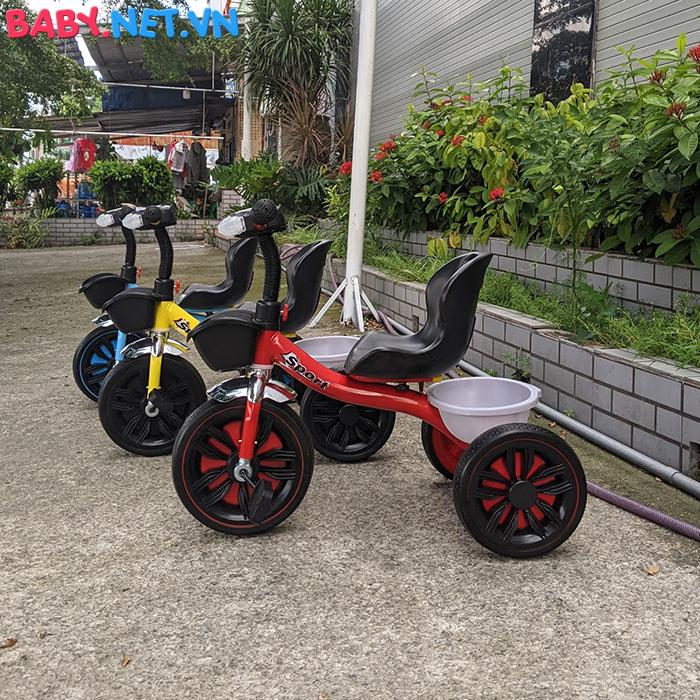 Xe đạp 3 bánh có đèn nhạc Broller XD3-916 1