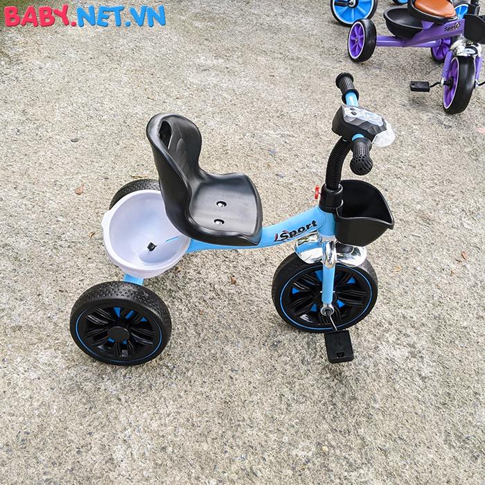 Xe đạp 3 bánh có đèn nhạc Broller XD3-916 10