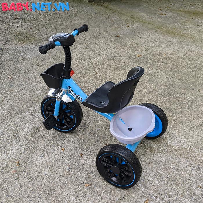 Xe đạp 3 bánh có đèn nhạc Broller XD3-916 11