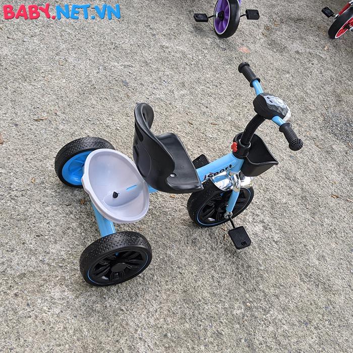 Xe đạp 3 bánh có đèn nhạc Broller XD3-916 12