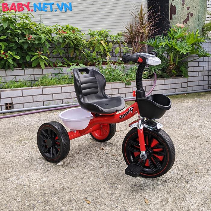 Xe đạp 3 bánh có đèn nhạc Broller XD3-916 14
