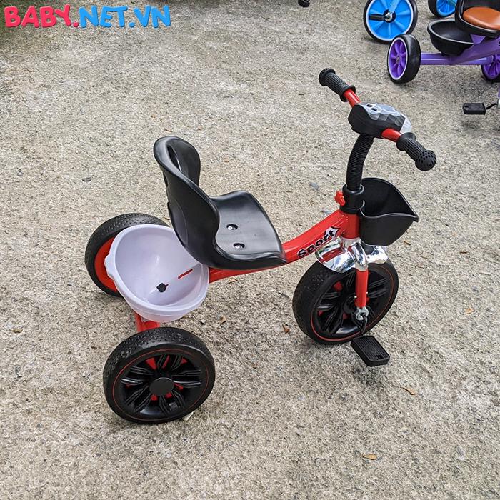 Xe đạp 3 bánh có đèn nhạc Broller XD3-916 15