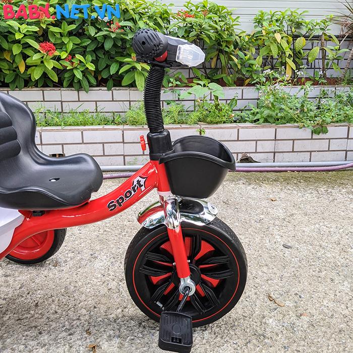 Xe đạp 3 bánh có đèn nhạc Broller XD3-916 17