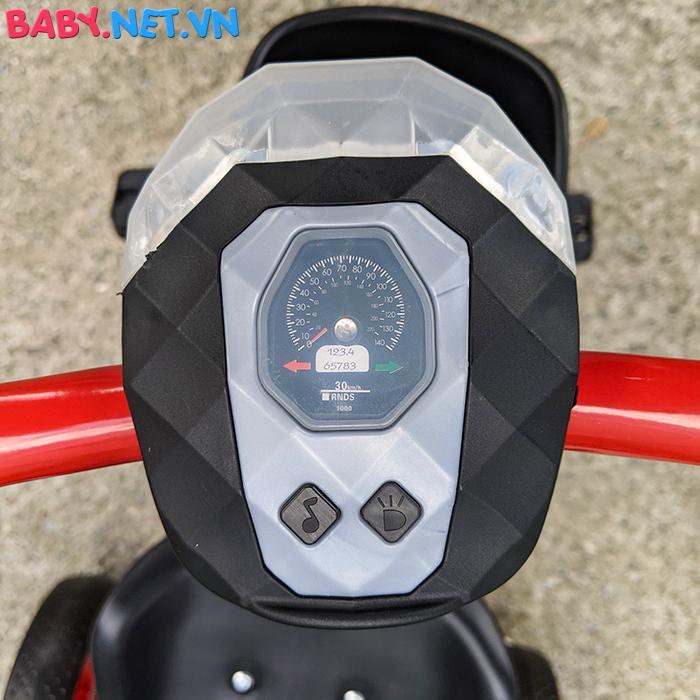 Xe đạp 3 bánh có đèn nhạc Broller XD3-916 19