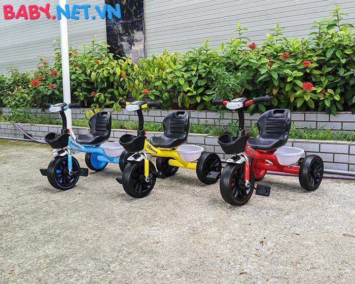 Xe đạp 3 bánh có đèn nhạc Broller XD3-916 2