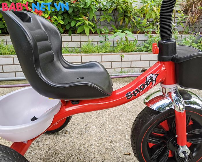 Xe đạp 3 bánh có đèn nhạc Broller XD3-916 20