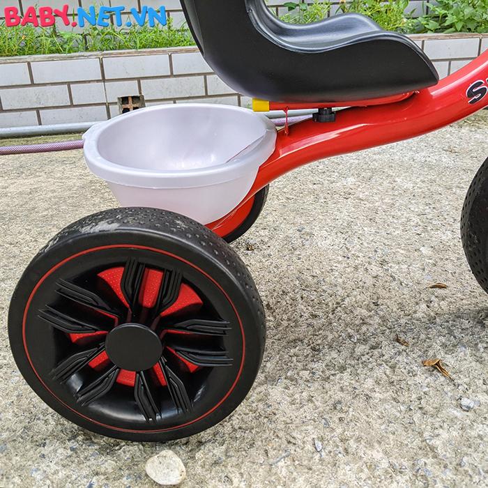 Xe đạp 3 bánh có đèn nhạc Broller XD3-916 22
