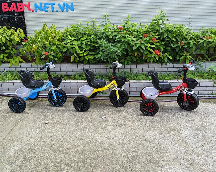 Xe đạp 3 bánh có đèn nhạc Broller XD3-916 3