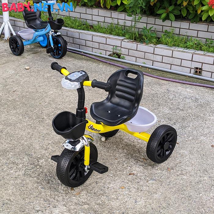 Xe đạp 3 bánh có đèn nhạc Broller XD3-916 6
